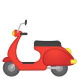 Motor Scooter on Google Android 8.1