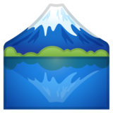 Mount Fuji on Google Android 8.1