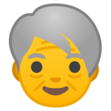 Older Person on Google Android 8.1
