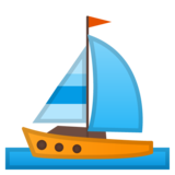 Sailboat on Google Android 8.1