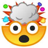 Exploding Head on Google Android 8.1