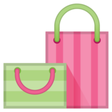 Shopping Bags on Google Android 8.1