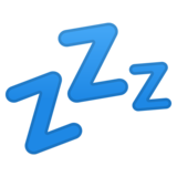 Zzz on Google Android 8.1