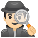 Detective: Light Skin Tone on Google Android 8.1