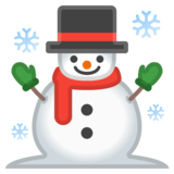 Snowman on Google Android 8.1