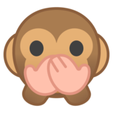 Speak-No-Evil Monkey on Google Android 8.1