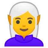 Woman Elf on Google Android 8.1