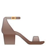 Woman's Sandal on Google Android 8.1
