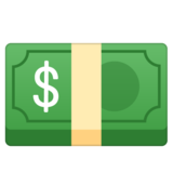 Dollar Banknote on Google Android 9.0