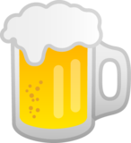 Beer Mug on Google Android 9.0