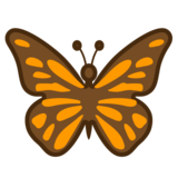 Butterfly on Google Android 9.0