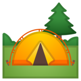 Camping on Google Android 9.0