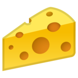 Cheese Wedge on Google Android 9.0
