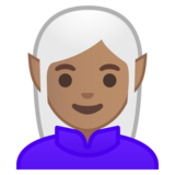 Elf: Medium Skin Tone on Google Android 9.0
