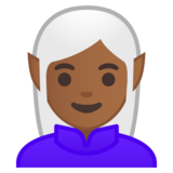 Elf: Medium-Dark Skin Tone on Google Android 9.0