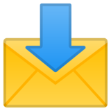 Envelope With Arrow on Google Android 9.0