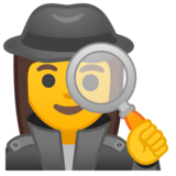 Woman Detective on Google Android 9.0