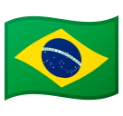 Flag: Brazil on Google Android 9.0