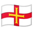 Flag: Guernsey on Google Android 9.0