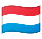 Flag: Luxembourg on Google Android 9.0