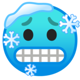 Cold Face on Google Android 9.0