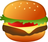 Hamburger on Google Android 9.0