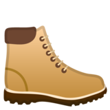 Hiking Boot on Google Android 9.0
