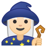 Mage: Light Skin Tone on Google Android 9.0
