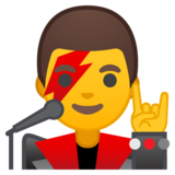 Man Singer on Google Android 9.0