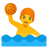 Man Playing Water Polo on Google Android 9.0