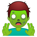 Man Zombie on Google Android 9.0