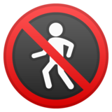 No Pedestrians on Google Android 9.0