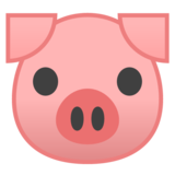 Pig Face on Google Android 9.0