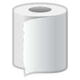Roll of Paper on Google Android 9.0
