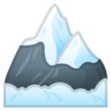 Snow-Capped Mountain on Google Android 9.0