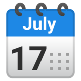 Spiral Calendar on Google Android 9.0