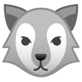 Wolf Face on Google Android 9.0