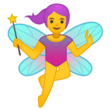 Woman Fairy on Google Android 9.0