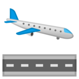 Airplane Arrival on Google Android 10.0