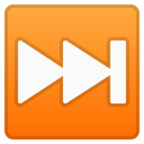 Next Track Button on Google Android 10.0