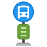 Bus Stop on Google Android 10.0
