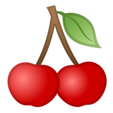 Cherries on Google Android 10.0