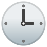 Three O'Clock on Google Android 10.0