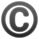 Copyright on Google Android 10.0