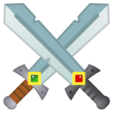 Crossed Swords on Google Android 10.0