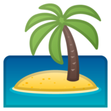 Desert Island on Google Android 10.0