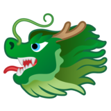 Dragon Face on Google Android 10.0