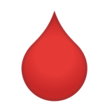 Drop of Blood on Google Android 10.0