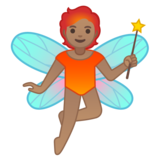 Fairy: Medium Skin Tone on Google Android 10.0