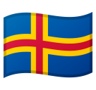 Flag: Åland Islands on Google Android 10.0